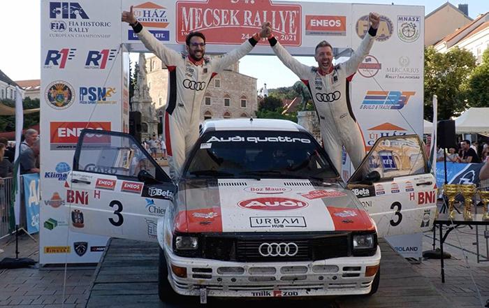 Resultats del Mecsek Rallye, tercera prova del FIA EHRC
