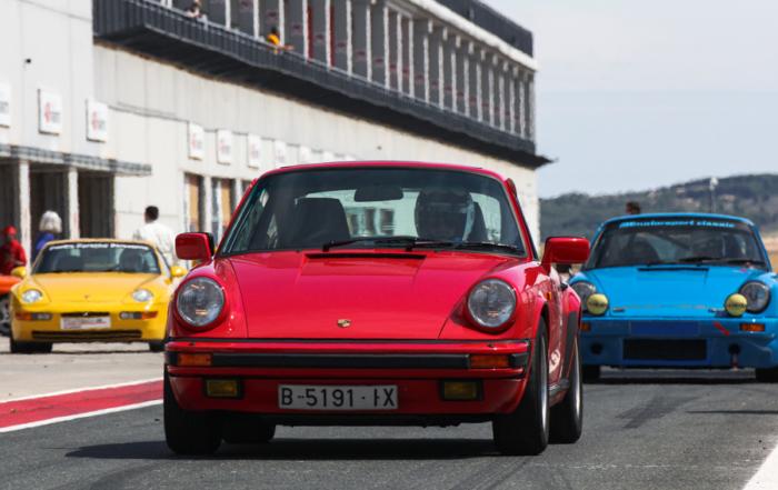 Clasificación de las Porsche Classic Series antes de Castellolí