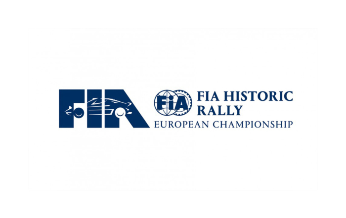 New logo for the FIA European Historic Rally Championship