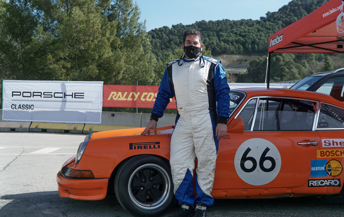 """Jaume Tobella: """"Las Porsche Classic Series nos permiten rodar y conocer mejor a nuestro vehículo"""""""