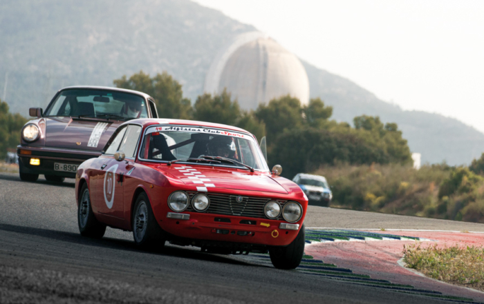 Dominio de los coches de Stuttgart en las Porsche Classic Series de Calafat