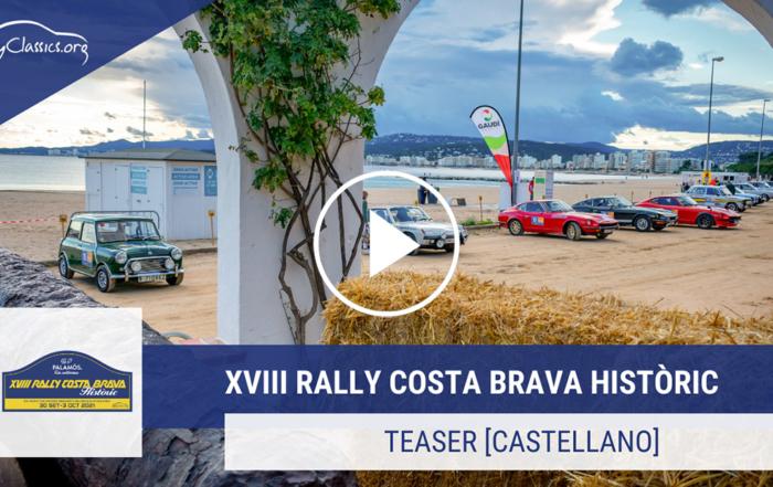Superb rhythm of registrations for the XVIII Rally Costa Brava Històric