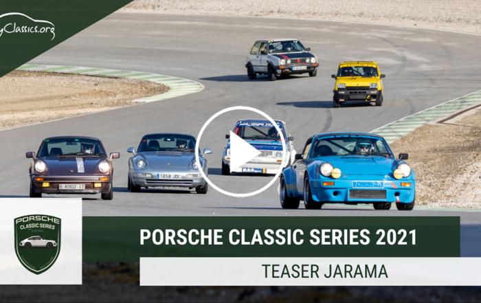 Informació per a inscriure's en les Porsche Classic Series de Jarama