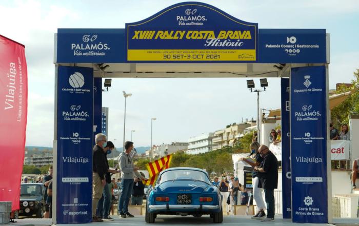 El XVIII Rally Costa Brava Històric ya está en marcha
